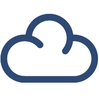 Cloud-Leistungen Icon